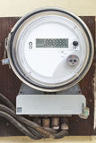 Smart grid residential digital power meter Stock Image