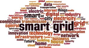 Free Smart Grid Word Cloud Stock Images - 146238614