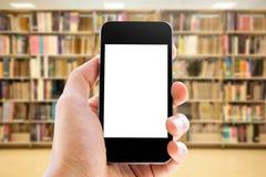 smart handholdingtelefon Arkivfoton