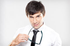 Smart And Handsome Stock Images