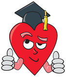 Smart Heart Stock Photo
