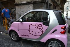 Smart Hello Kitty photo stock