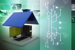 Smart home concept Royalty Free Stock Photography