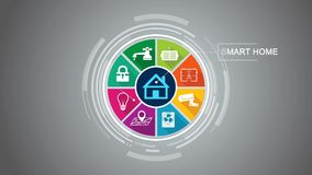 Smart Home Concept vector illustration