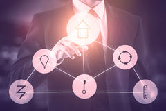 Smart home concept Royalty Free Stock Image