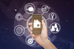 Smart home concept Royalty Free Stock Photos