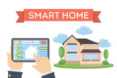 Smart home concept. Stock Image