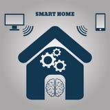 Smart home concept symbol  illustration eps 10 Stock Image