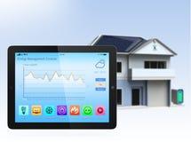 Smart home console Stock Photo