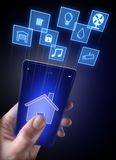 Smart home Stock Image
