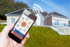 Smart Home Device - Home Control Stock Photography