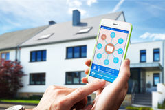 Smart Home Device - Home Control Royalty Free Stock Photos