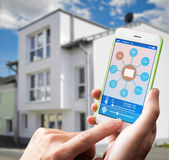 Smart Home Device - Home Control Royalty Free Stock Photo