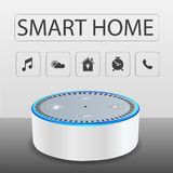 Smart home devices stock photo