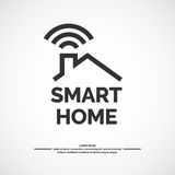 Smart home icon. Stock Images