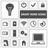 Smart Home Icons Set Stock Photo