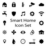 Smart home icons set Royalty Free Stock Photo
