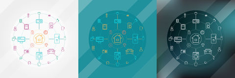 Smart Home And Internet Of Things Concept Royalty Free Stock Image