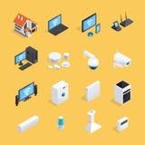 Smart Home Isometric Icons Set Stock Photo
