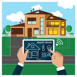 Smart home Stock Photography