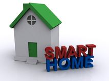 Smart home Royalty Free Stock Photography