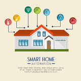 Smart home technology icon Stock Photography