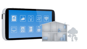 Smart house Royalty Free Stock Images