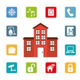 Smart house Royalty Free Stock Photos