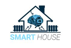 Smart House Innovation Technology Of Home Administration Concept. Flat Vector Illustration Stock Photography