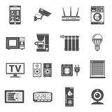 Smart House and internet of things icons set Royalty Free Stock Images