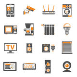 Smart House and internet of things icons set Stock Photo