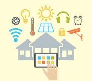Smart house Stock Photo