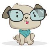 Smart hundsammanträde Royaltyfri Foto