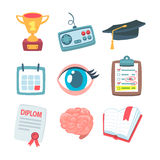 Smart icons Royalty Free Stock Photos