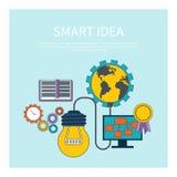 Smart idea concept Stock Photos
