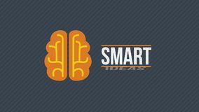 Smart ideas concept video stock footage