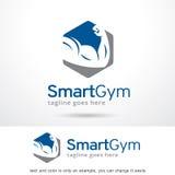 Smart idrottshall Logo Template Design Vector Royaltyfri Bild