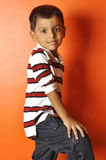 Smart Indian boy posing Stock Image