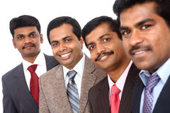 A smart Indian business team Stock Photo