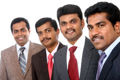A smart Indian business team Royalty Free Stock Image