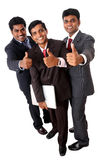 A smart Indian business team Stock Images