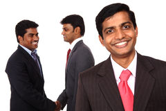 A smart Indian business team Royalty Free Stock Images
