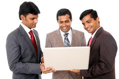 A smart Indian business team Royalty Free Stock Photos