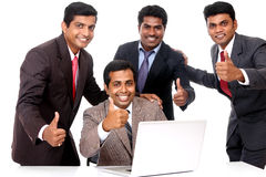 A smart Indian business team Royalty Free Stock Photo