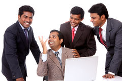 A smart Indian business team Royalty Free Stock Photography