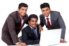 A smart Indian business team Stock Image