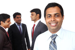 A smart Indian business team Stock Photography