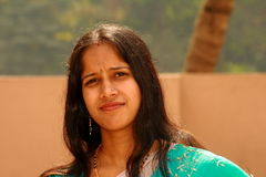 Smart Indian woman Royalty Free Stock Photo