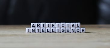 Artificial intelligence the modern era. Smart innovation improve lives of everyone worldwide. The fastest growing business is technology Stock Images