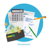 Smart investment concept Royalty Free Stock Photo